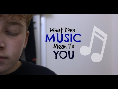 What Does Music Mean To You? || Short Film