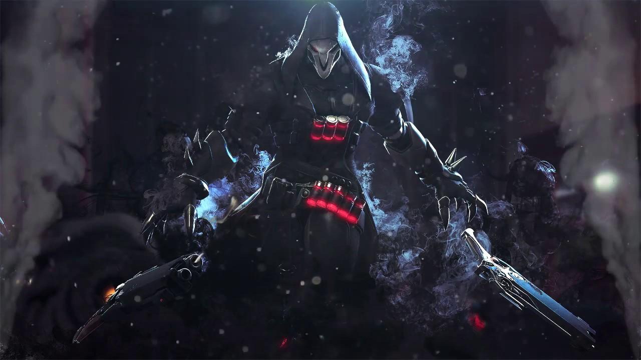 Overwatch Dual Screen Wallpaper: Wallpaper Reaper Part2