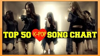 [TOP 50] K-POP SONGS CHART - MARCH 2016 [WEEK 2]