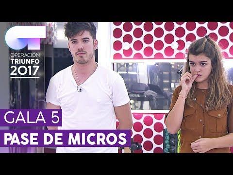 """SHAPE OF YOU"" - Roi y Amaia | Primer pase de micros para la Gala 5 | OT 2017"