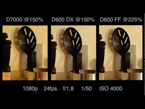 Nikon D7000 vs Nikon D600 - High ISO/Low Light Video Tests and Review