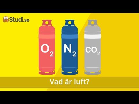 Vad är luft? (Kemi) - Studi.se
