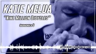 Katie Melua - Nine Million Bicycles - Harmonica G