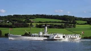 #10 Steamboat on lake Mjøsa, Norway.