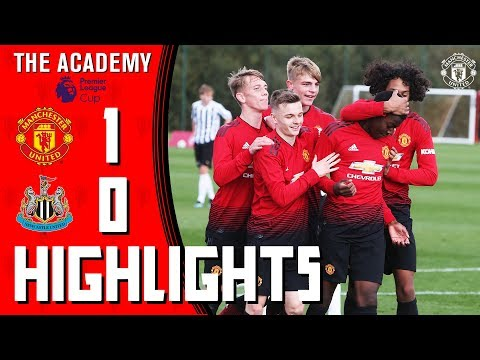The Academy | U18 Highlights | Manchester United 1-0 Newcastle | Premier League Cup