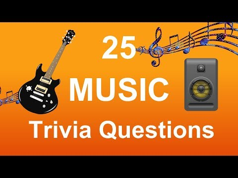 25 Music Trivia Questions  Trivia Questions & Answers