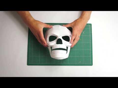 Wintercroft Death Mask Timelapse Build