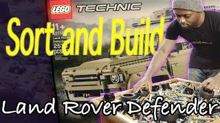 LEGO Sort and Build: Land Rover Defender 4K