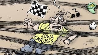 5 devastatingly funny cartoons about the Democrats' Iowa fiasco