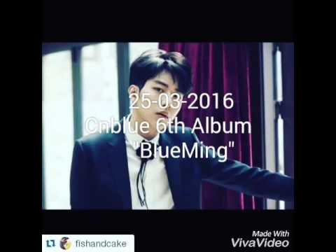 """Cnblue 6th Album """"BlueMing"""""""