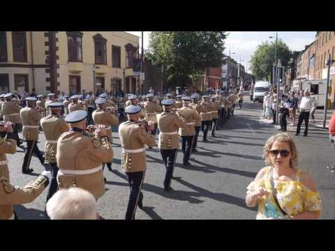 Various bands 12th July morning east Belfast
