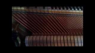Afinación de un piano