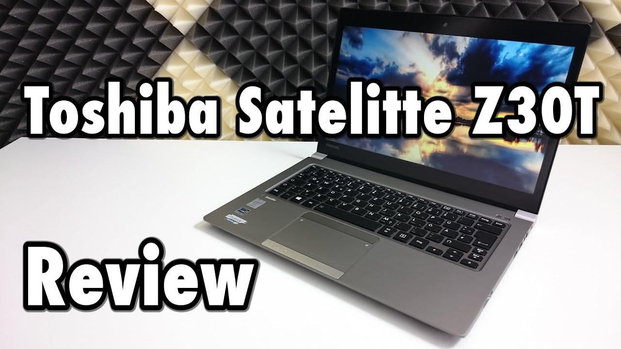 Toshiba Satelitte Z30T-A-10C Review