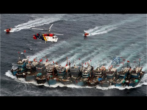 Brutal Attack (Mar.23) Armed Forces of Philippines expel 220 Chinese boats stealing fish in PH Sea