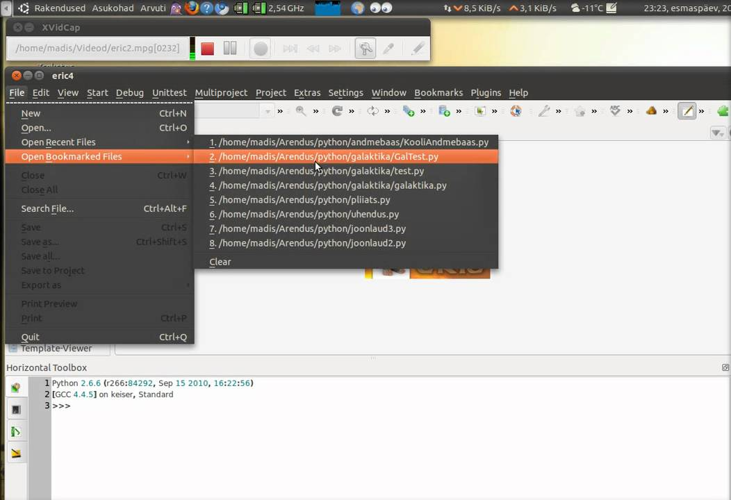 How to install eric6 ide for python on windows.