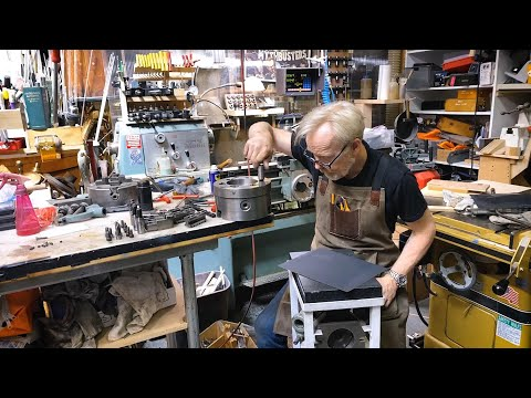 Adam Savage's Weekend Builds: Lathe Chuck Rebuild!