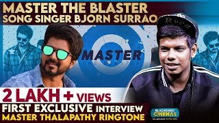 Master The Blaster Song Singer Bjorn Surrao | First Exclusive Interview | Blacksheep Cinemas