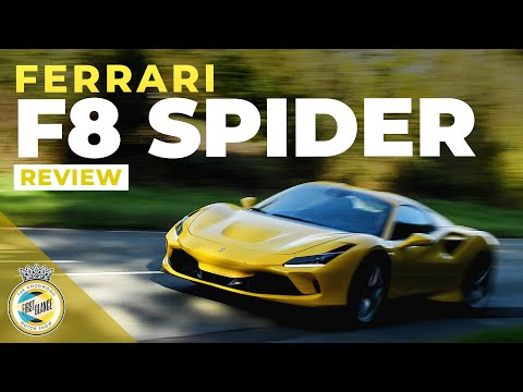2021 Ferrari F8 Spider road review | Where is the sound?