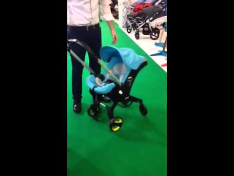 The Doona A 0 Infant Car Seat With Integrated Wheels Youtube