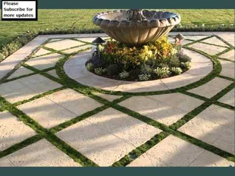 Grass And Pavers Design Collection | Landscape Pavers Grass   YouTube