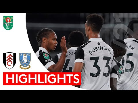 2020/21 Highlights: Fulham 2-0 Sheffield Wednesday | Routine victory sees Fulham progress in the Cup