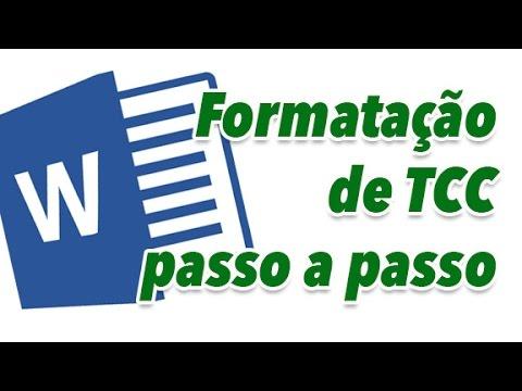 TUTORIAL FORMATAÇÃO DE TCC