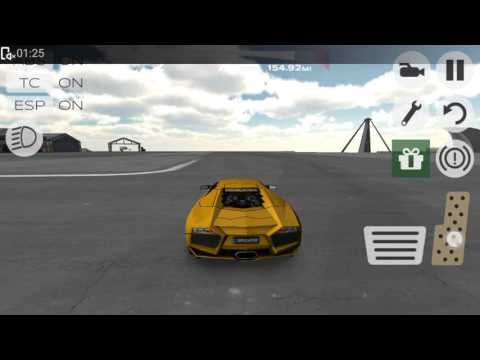 Some drifting lessons in extreme car simulator
