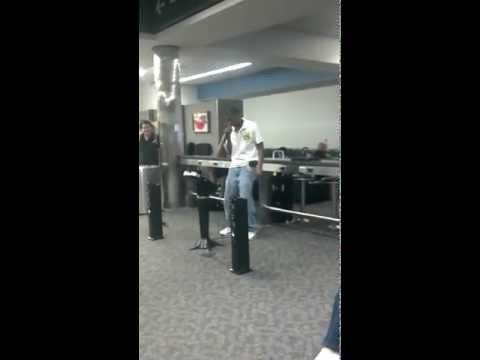 Airport karaoke