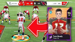 I HAD A PERFECT PASSING GAME WITH 99 OVERALL TOM BRADY ?- Madden 20 Ultimate Team