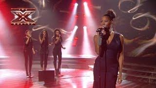 Jamelia - Stop - Десятый прямой эфир - Х-Фактор 3 - 29.12.2012