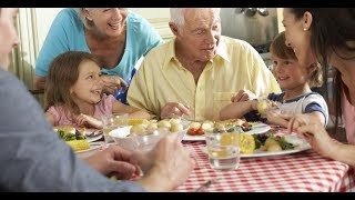 What french grand-parents say to their grand kids?
