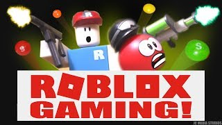 "ROBLOX: SKITTLE POWER! (NOOB & MEEP PLAY ""MAD Paintball 2"" & ""NERF FPS"") FEATURING #RobloxToys"