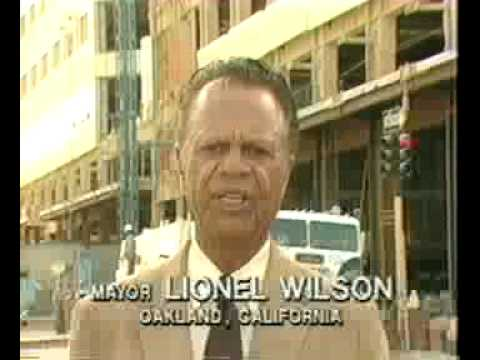 Oakland Mayor Leads: Lionel Wilson Promotes Oakland