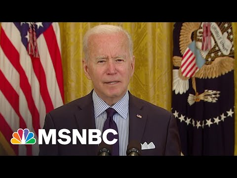 Biden On April Jobs Report: 'We're Still Digging Out Of An Economic Collapse' | MSNBC