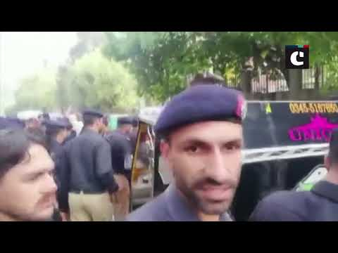Protesting policemen on temporary job thrashed by armed police in Muzaffarabad
