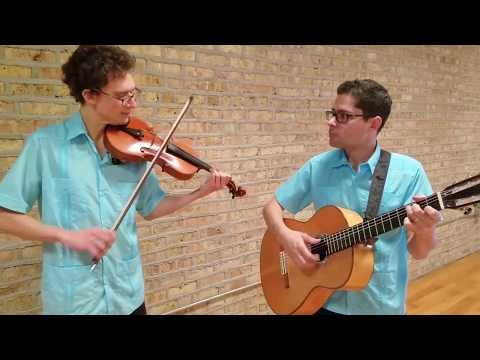 "El Jarabe Tapatío ""the Mexican Hat Dance"" -  Chicago Guitar/Violin Duo"