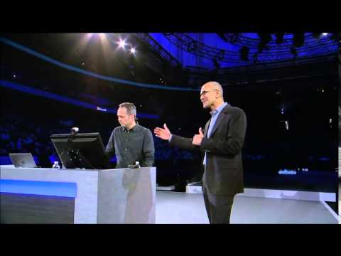 Microsoft Worldwide Partner Conference 2014: Nadella demos