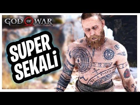ORANG GiLA DENGAN KEKUATAN SUPER 😂 God Of War 4 Indonesia #2