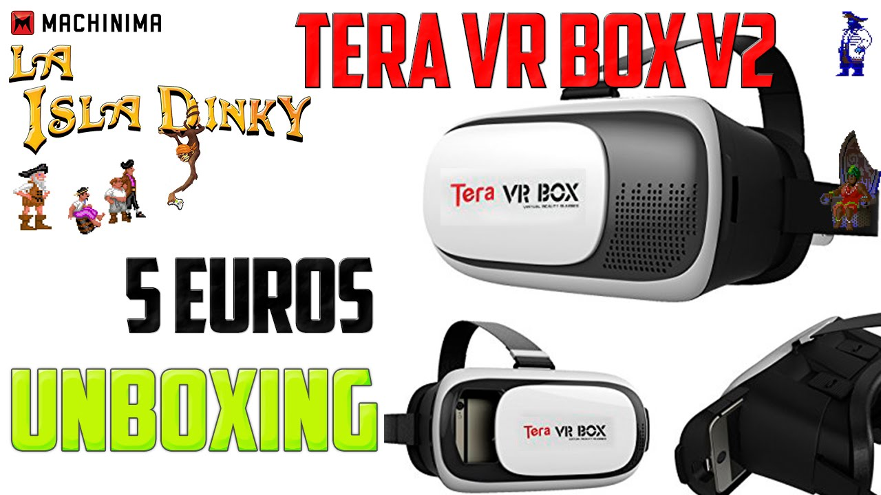 a83218b5e29 Unboxing - Review - Tera VR BOX V2 - Android VR Headshet - Glasses - Google  Cardboard Clon