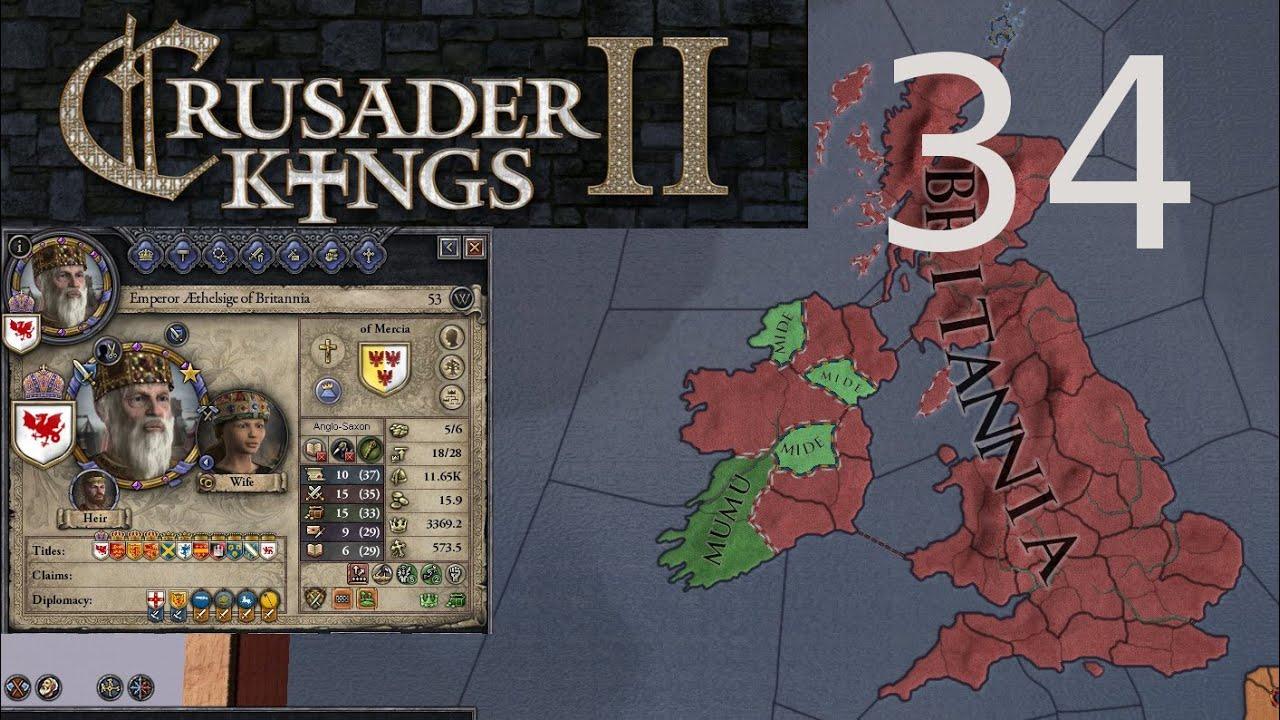 Crusader Kings 2 34 Empire Management