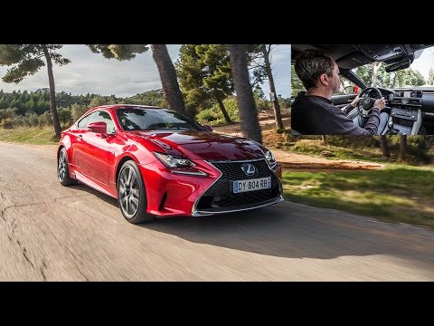 2016 lexus rc 300h essai video coup colo prix performances avis youtube. Black Bedroom Furniture Sets. Home Design Ideas