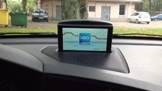 iGo на выезжающем штатном навигаторе Volvo RTI(Для сравнения представляю вам второй, упрощенный вариант программы. В этом варианте железо и подключение..., 2012-10-04T15:01:56.000Z)