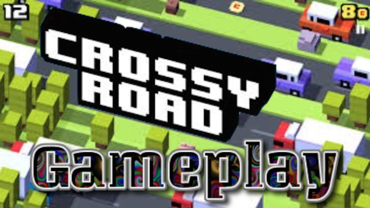 Road gameplay ios challenging game jump fast to cross the road