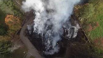 Kiihtelysvaaran kirkko tuhoutui tulipalossa