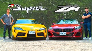 2020 Toyota Supra vs BMW Z4 M40i // Attack Of The Clones