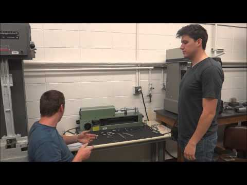 How to use rotating cyclic fatigue testing machine at BYU-I