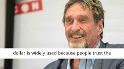 BREAKING: Bitcoin Below $1 Million by 2020 is Impossible, It's Pure Mathematics, Says John McAfee