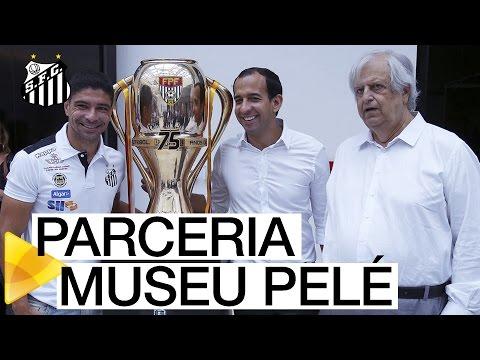 Santos FC assina acordo com Prefeitura para potencializar Museu Pelé