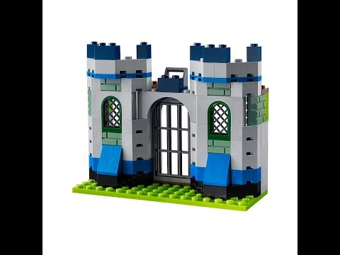 Knights Castle How To Build Lego Classic 10703 Youtube