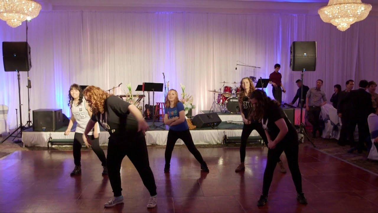 Bridesmaids K Pop Dance Medley At Khanh Chris Wedding